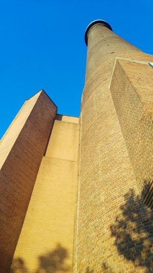 Architectural Feature Architectural Structure Fine Brickswork Tall Tower Summer Evening Londonthroughmycam