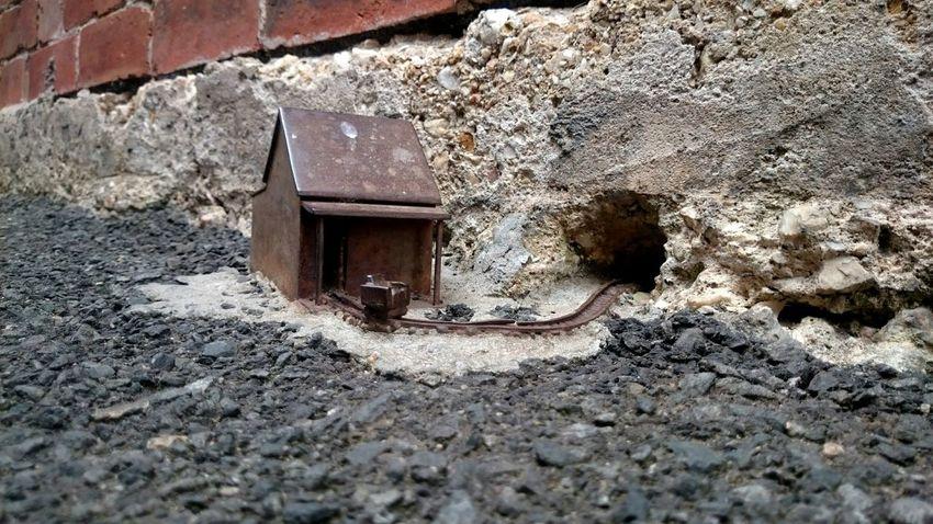 alleyway miniature Ballarat  Australia Miniature Art Close-up Metal Hidden Path