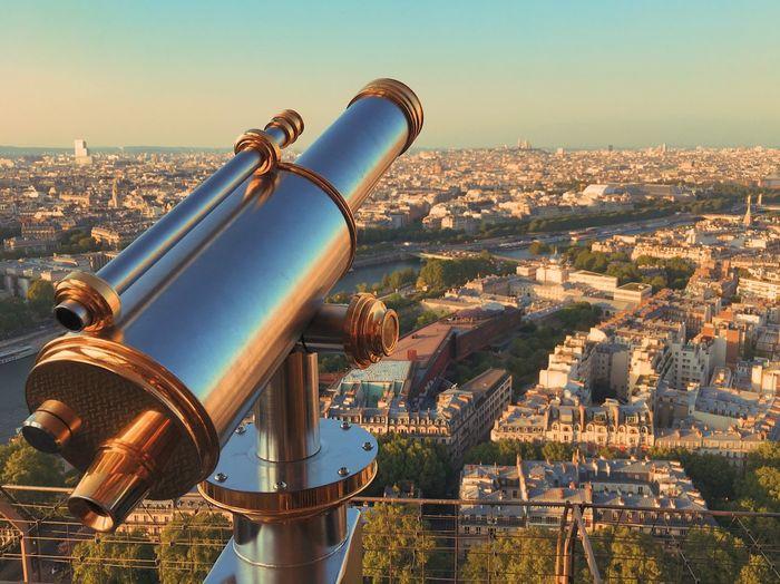 The Great Outdoors - 2017 EyeEm Awards Telescope Coin-operated Binoculars Cityscape Architecture Hand-held Telescope Travel Destinations Paris Je T Aime EyeEmNewHere Paris The Architect - 2017 EyeEm Awards France VSCO City Vscocam Paris ❤ Sky Paris, France