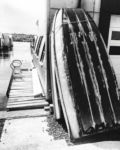 Boathouses Water Photography Eyeemphotography Nature Photography Outdoors EyeEm Gallery Lakeshore Boat Blackandwhitephotography