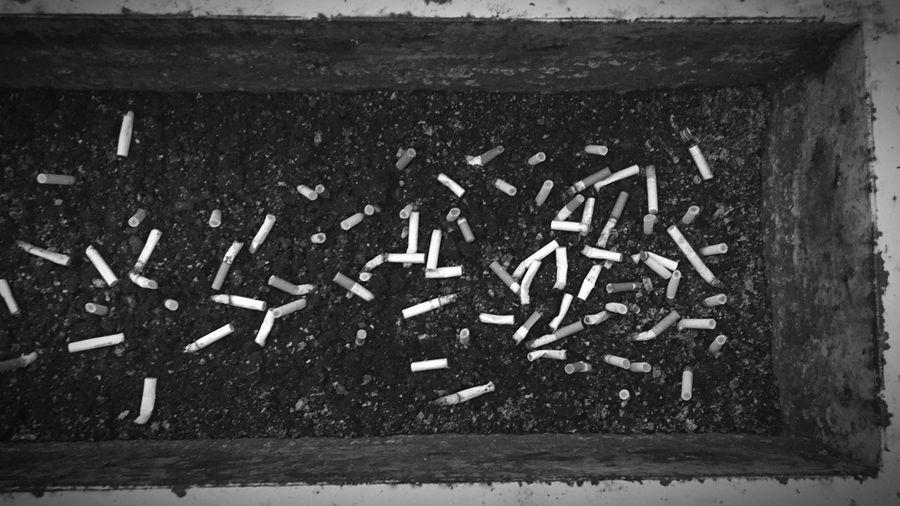 Blackandwhite IPhoneography タバコ 煙草 タバコ Smoking No Smoking