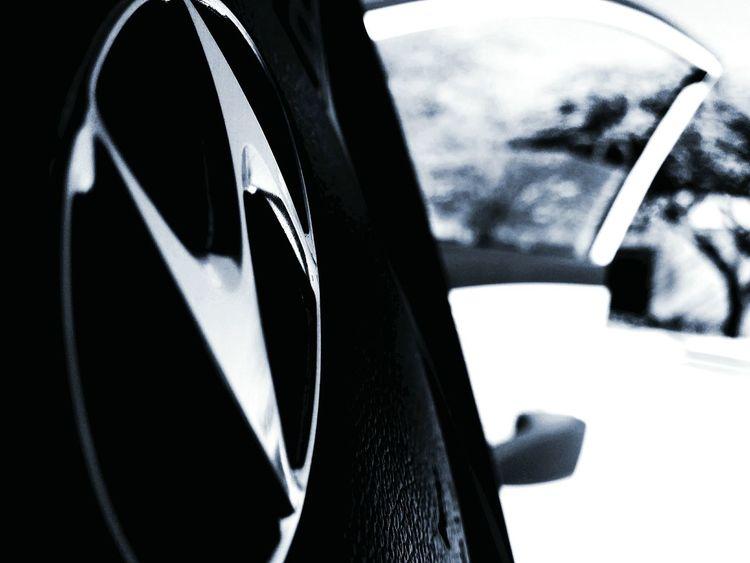 Retrica. Hyundai HyundaiVerna Steeringwheel Vintage Black And White Blackandwhite Photography Blackandwhite Carfreak Car Carworld