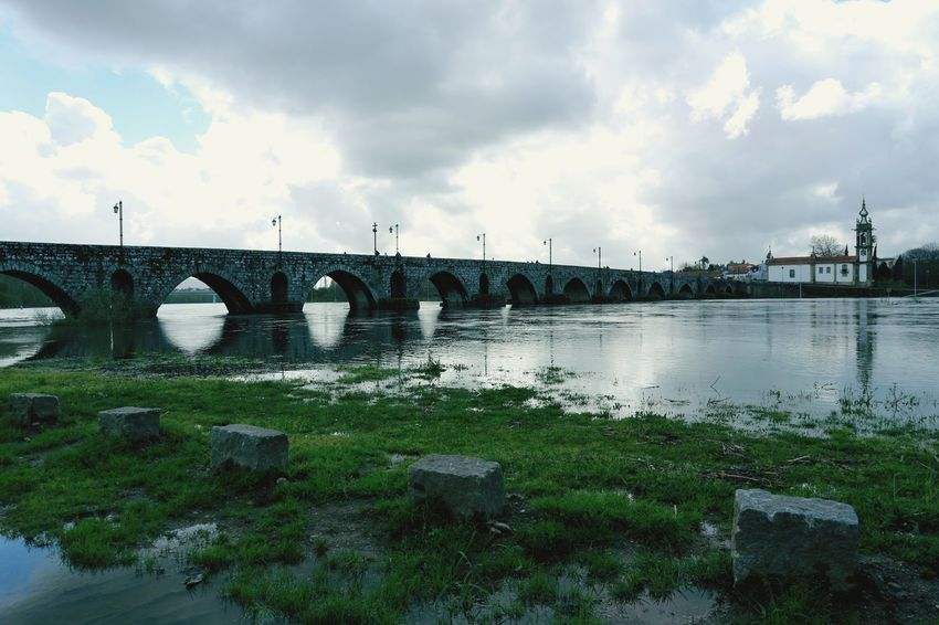bella Water Bridge - Man Made Structure City Sky Cloud - Sky Grass Built Structure