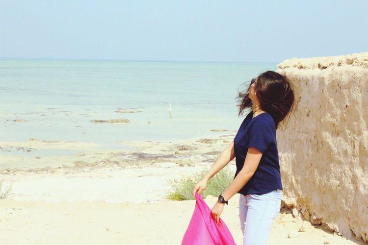 Beachbum Desertbeach BEACH!  Hotsummerfeels Qatar2016 Desertlife Beauty In Nature Mylifeindoha Mylifeınpictures