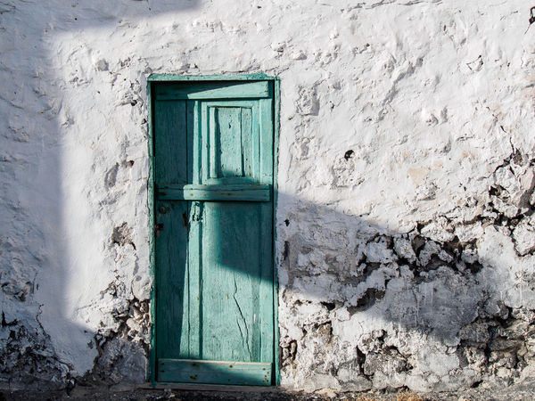 Teguise, (Lanzarote) Novemver 2017 Teguise Architecture Building Exterior Built Structure Closed Door Entrance No People Ruined Wall