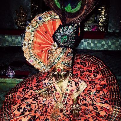Kanudo Festival Janmashtmi Mukkut Clothes Peacock wing Colourfull Nandottasav Happiiee Bday Krishna Blessed ...