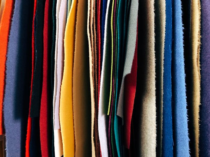 Multi-colored fabric Multi Colored Full Frame Fabric Textile Textile Industry Retail  Large Group Of Objects Side By Side Close-up Choice Backgrounds Fashion Order Still Life In A Row Abundance Arrangement Variation Curtain Concept Pattern Industry MaterialDesign Material Colorful Texture No People Design Element Designer  Clothing Hand Made Indoors  Horizontal