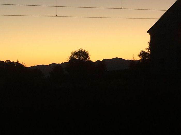 Sunrise Mountains Sun Shadow