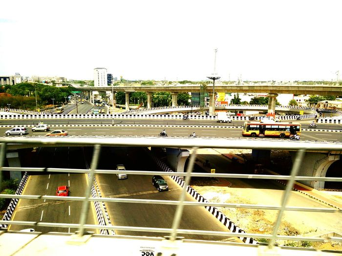 A view from metro rail