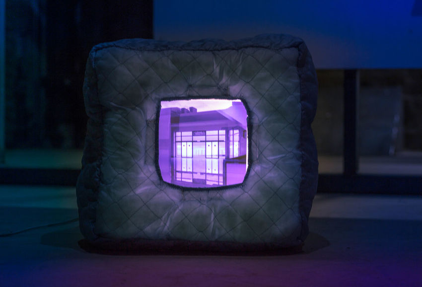 Architecture Arts Culture And Entertainment Blue Close-up Design Dusk Focus On Foreground Glowing Illuminated Indoors  Light Light - Natural Phenomenon Lighting Equipment Nature Night No People Purple Single Object Technology