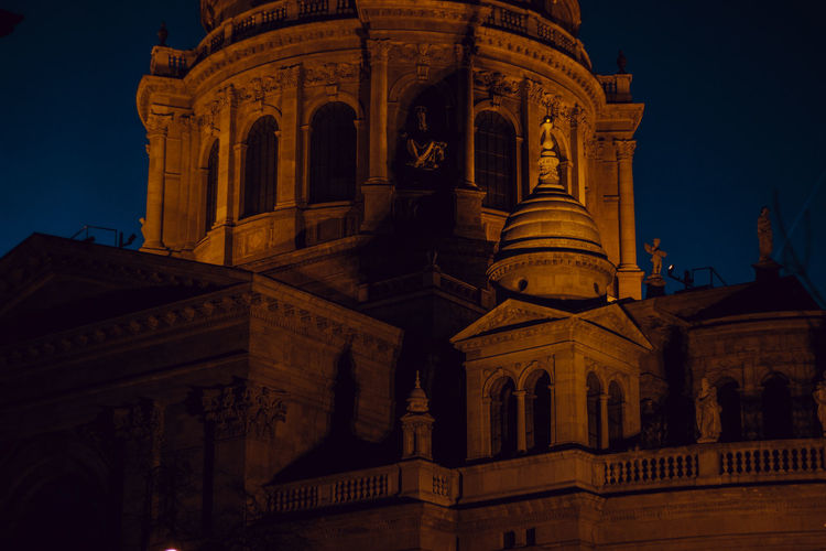 Camera - Canon 550D -Lens - 50 mm f/1.8 Blog : https://www.instagram.com/david_sarkisov_photography/ Architecture Built Structure Building Exterior Low Angle View Building History Sky The Past Night No People Nature Religion Tourism Belief Place Of Worship City Travel Destinations Travel Dusk Arch Architectural Column Ornate