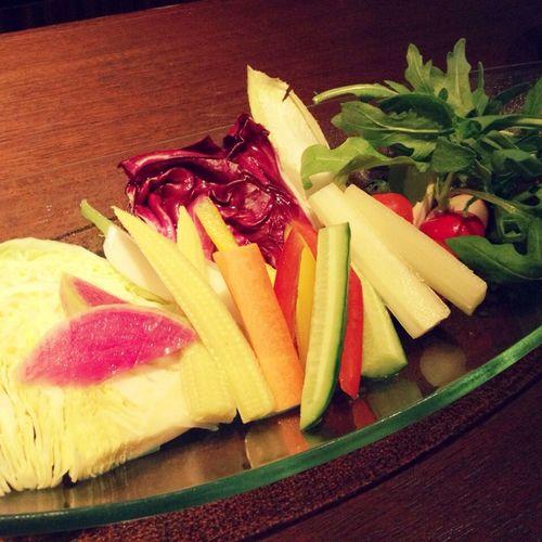 バーニャカウダで1日分の野菜を採ったつもり Yummy Tasty Dishes