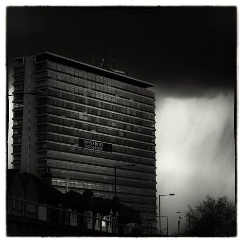 Urban Blackandwhite Thunderstorm Streetphoto_bw