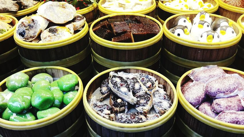 Food And Drink Food Photography Food Around The World Food Market Food Chinese Food China Shanghai Tianzifang Collection Bowl The Color Of Business Tourist Trap Travel Destinations Traveling EyeEm Best Shots Assortment Tourist Places Difficult Choice Variation The Mix Up Eat And Go Street Food Worldwide Street Photography Tasty EyeEm Diversity