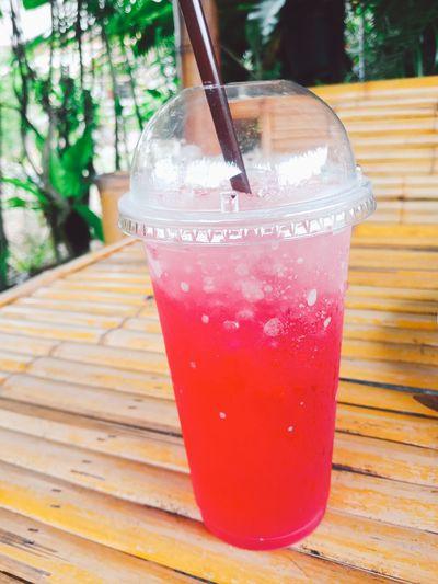 Rose soda Cold