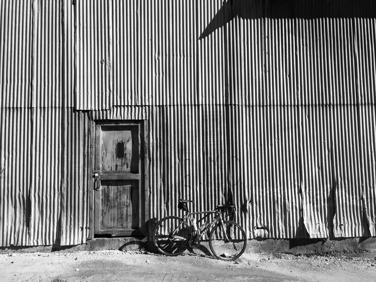 Corrugated Blackandwhite Black And White Cycling Bicycle Bicycles Cyclist Light And Shadow Metallic Celebrate Your Ride