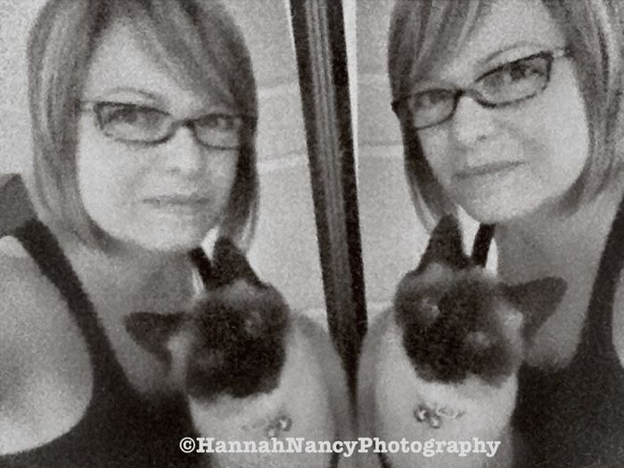Mirror Reflection Eye4photography  Catsiamese  Black And White