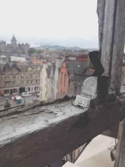 Vintage View Edinburgh Scotland