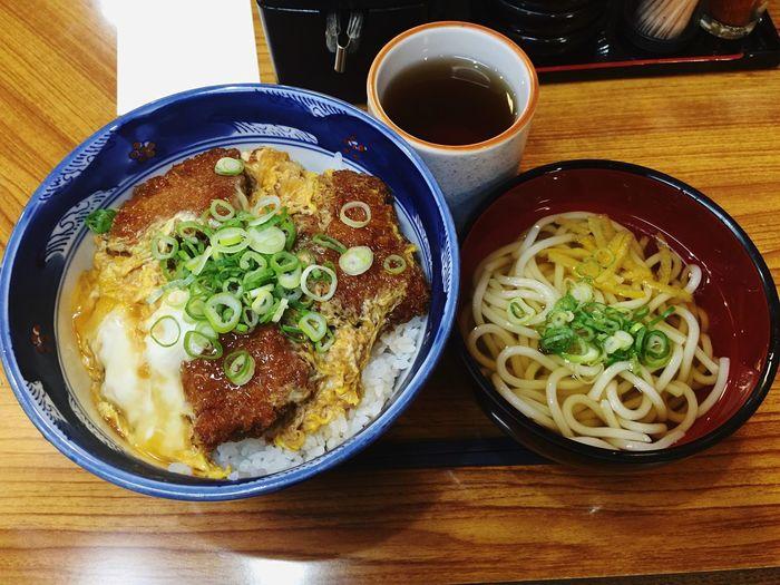 Japanese Food Don Donburi Katsudon Udon OSAKA