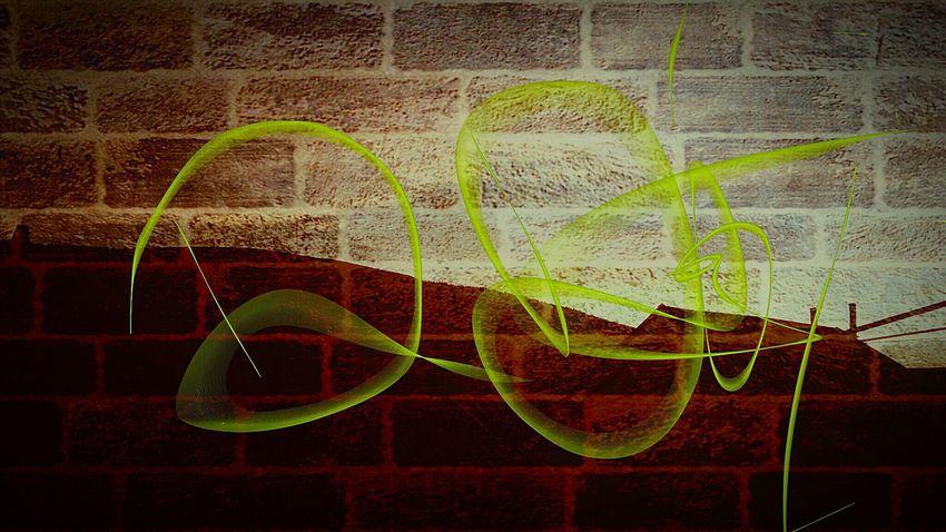 Art Graffiti When Boredom Strikes. Light And Shadow