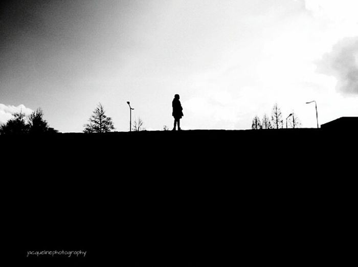 Silhouette Sky One Person Real People Tree Leisure Activity People Full Length Lifestyles Outdoors Day Nature Daughter Skyporn Skyscape Black & White Beautiful Nature Urban Canonphotography Hello World Nijmegenopdekaart Fun Lovelife Welcome To Black EyeEmNewHere