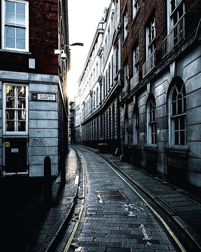 The Grit Of London Building Exterior Built Structure Architecture Transportation Outdoors City No People Day Railroad Station Platform Sky