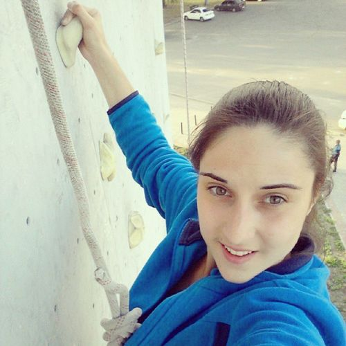 Покоряя вершины✌ Kharkiv Today Selfie Climbingwall smile happy скалодром