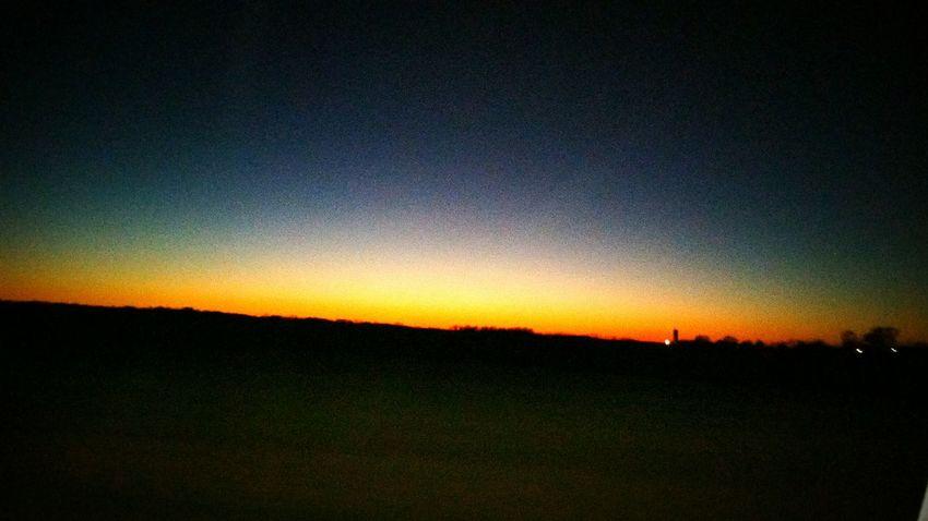 Taking Photos Landscape Sunset