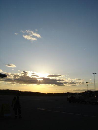 Light And Shadow Sun Stockholm Airport Arlanda