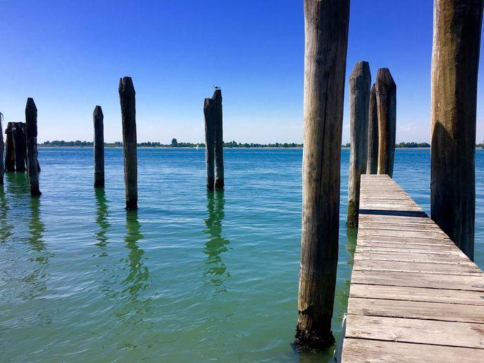 Dock Seaside Seascape Italy Docks Sea View Sea And Sky Sea