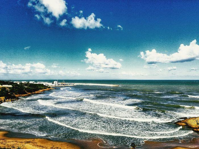 Sea Beach Water Nature Sky Horizon Over Water Sand