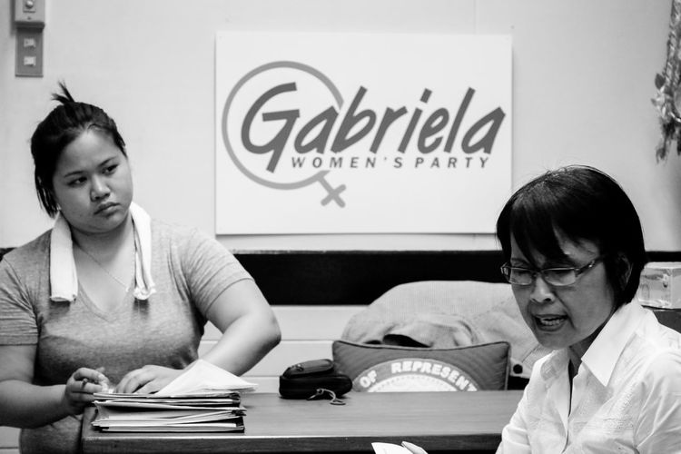 The voice of women in Philippine Congress. RePicture Leadership RePicture Learning RePicture Team Women Women Empowerment People People Photography Black And White Monochrome VSCO