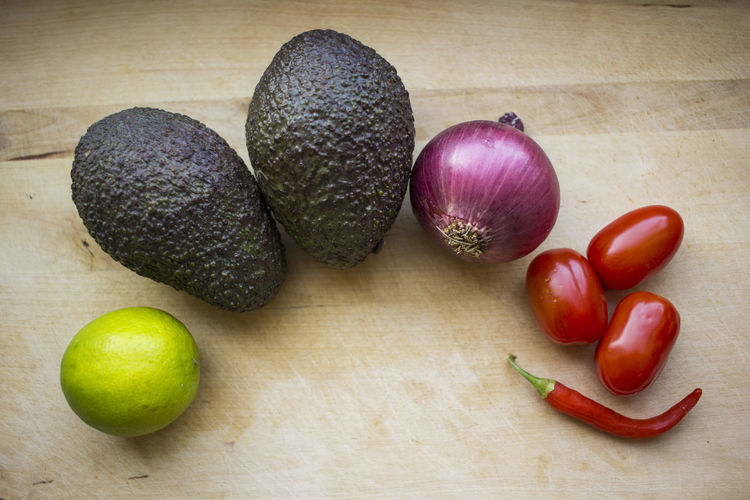 Avocado Choice Food Food And Drink Freshness Guacamole Healthy Eating Onion Still Life Variation Vegetable