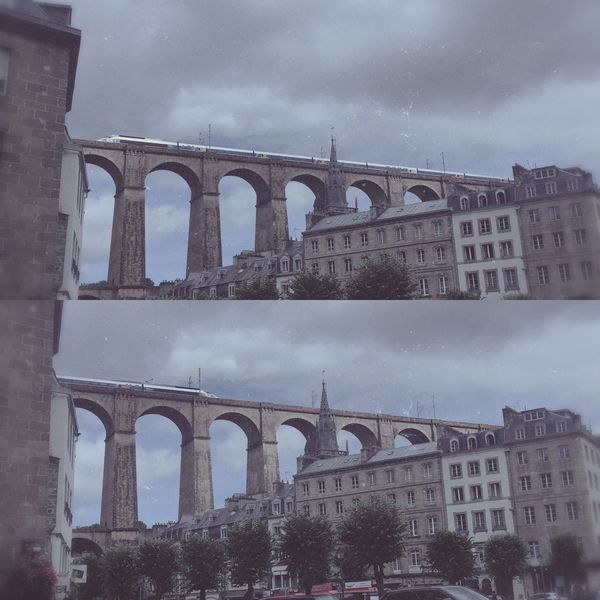 Check This Out Bridge Sun Morlaix