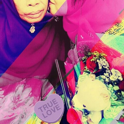 She's my true love.. Love you.. Throwbackconvoday Peace And Love Perak, #Malaysia