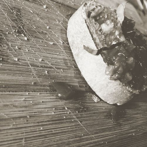 Bruchetta  Tomatoes Bread Blackandwhite