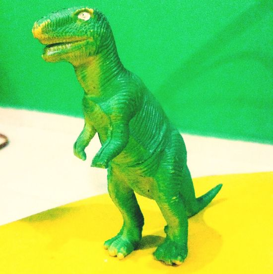 T-rx. Dinosaurs Green