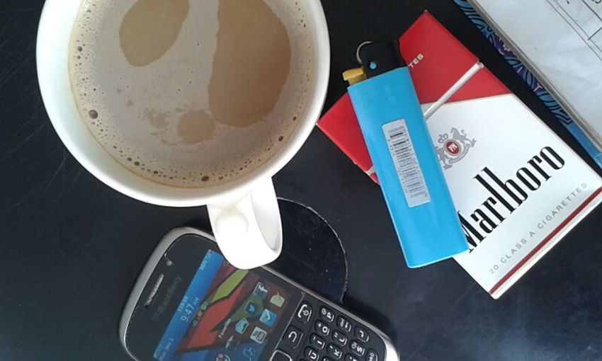 my two loyal companions Coffee And Cigarettes