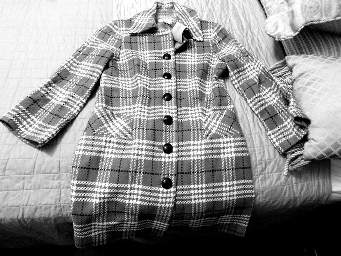 Blackandwhite Vintage Vintage Fashion Fashion Coat Couture Clothes Clothing Vintage Style Style Yesterday Plaid Unique Unique Style Vintage Coat Vintage Clothing Style And Fashion Fashionista ExpressYourself Winter Cold Weather Cold Temperature Chic Winterwear