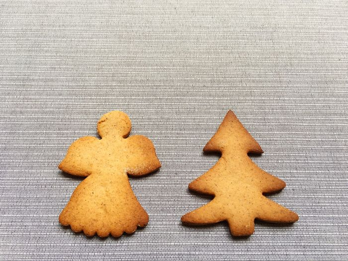 Christmas Cookies Shapes Tree Baked Brown Celebration Christmas Close-up Cookie Decoration Design Food Food And Drink Freshness Gingerbread Group Of Objects Handmade High Angle View Holiday Homamade Indoors  Shape Sweet Sweets