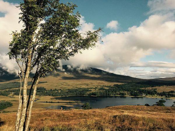 West Highland Way Lake Nature Sky No People