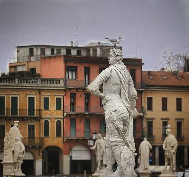 Pratodellavalle Padova PD  Veneto Italy Statua Badweather