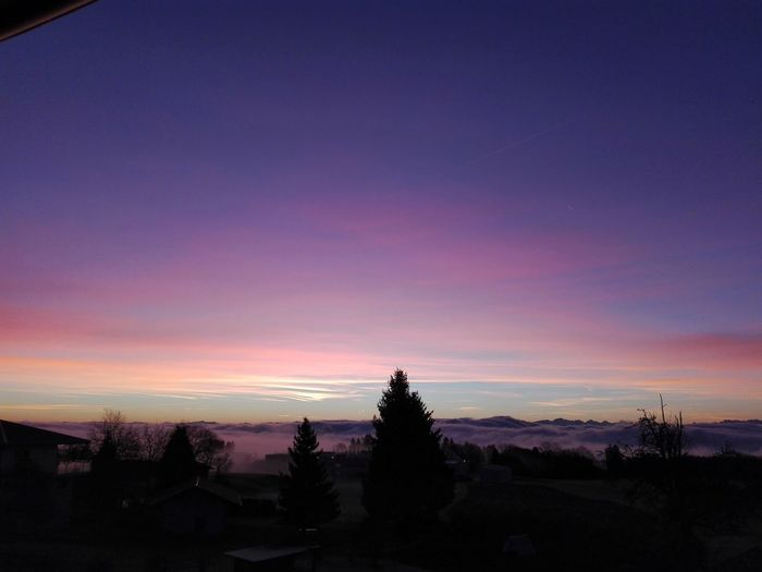 Sunrise City Blue Sky Dramatic Sky Pink Color Landscape Tree Traveling Home For The Holidays Finding New Frontiers Clouds Beauty In Nature Amazing Sunset Alps Switzerland Alpenpanorama No Filter, No Edit, Just Photography Beautiful Colors Eyeemphotography Eyeem Collection EyeEm Gallery No Edit/no Filter Eyeem Market Deutschland Adapted To The City Miles Away The City Light The Great Outdoors - 2017 EyeEm Awards BYOPaper!