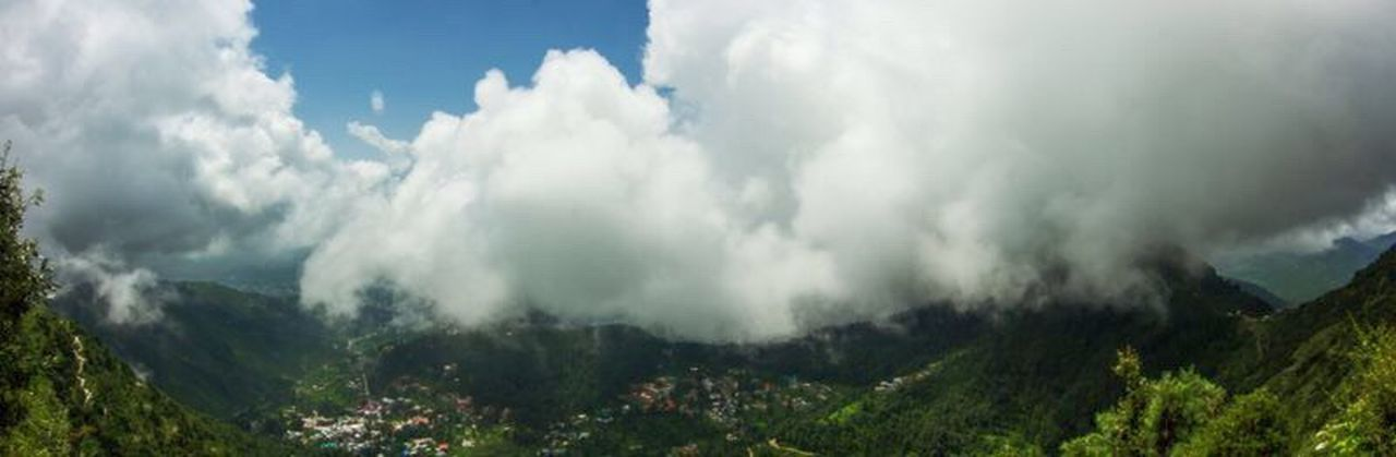 Dharamshala, Himachal Pradesh Clouds Green Nature Himachalpradesh India Mountains Dharamshala Panorama Panoramic Photography Trekking