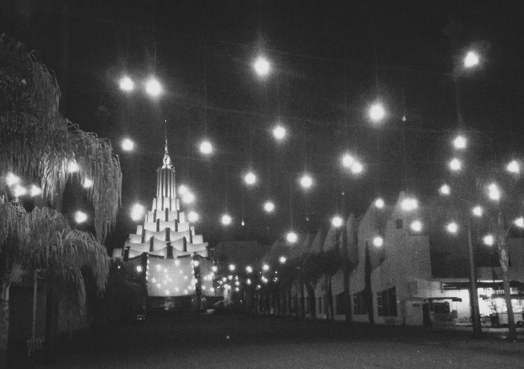 Cities At Night LDM Luces De Ciudad Blackandwhite