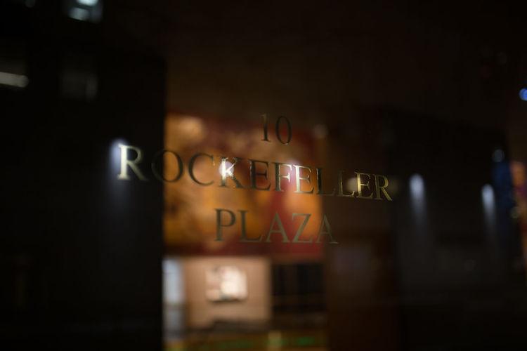 Architecture Rockefeller Plaza