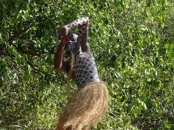 Teakanake Wececa Nouvelle Calédonie Kanak Centre Culturel Tjibaou Culture Noumea Portrait Danse Ethnique