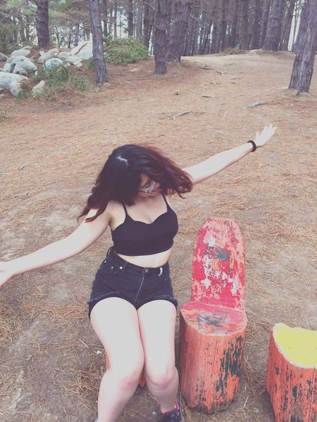 In the beach! Elcanelo Litoral Central Santiago De Chile Redhead Chileangirl That's Me Relax Beach Psicodelic.