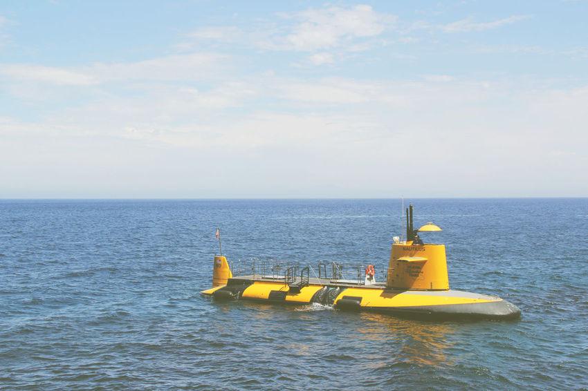 Catalina Island, Avalon, California Day Nature Ocean Outdoors Pacific Ocean Sky Submarine Water