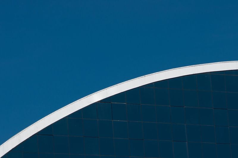 Line Like Built Structure Architecture Building Exterior Blue Sky Low Angle View Clear Sky No People Modern Day Building City Outdoors Sunlight Office Building Exterior Pattern High Section